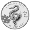 $15 2013 Fine Silver Coin - Year of the Snake