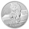 $20 2013 Fine Silver - Wolf $20 for $20