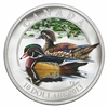 $10 2013 Fine Silver Coin - Ducks of Canada - Wood Duck