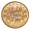 $10 1914 Hand-Selected Gold Coins - Canada's First Gold Coins