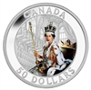 $50 2013 Fine Silver Coin - Queen's Coronation