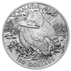$100 2014 Fine Silver Coin - The Grizzly