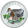 2014 25 Cent Colour Coin - Pintail Duck