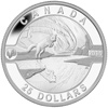 2014 $25 Fine Silver Coin - The Arctic Fox and the Northern Lights - O Canada