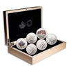 2015 $10 FIFA Women's World Cup Canada - Pure Silver 6-Coin Set
