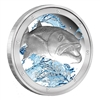 2015 $2 Ocean Predators: Great Barracuda - 1 oz. Pure Silver Coin