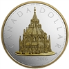 2016 $1 Renewed Silver Dollar: Library of Parliament - Pure Silver Coin