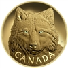 2017 $2500 In The Eyes of the Timber Wolf - Pure Gold Coin