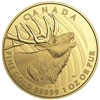 2017 $200 Elk - Pure Gold Coin