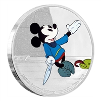 2016 $2 Brave Little Tailor - Pure Silver Coin