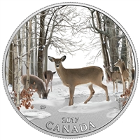 2017 $10 Spring Sightings - Pure Silver Coin