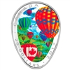 2017 $20 Hot Air Balloon - Pure Silver Coin