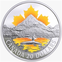 2017 $20 Canada's Coasts: Pacific Coast - Pure Silver Coin