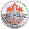 2017 $20 Atlantic Coast: Canada's Coasts Series - Pure Silver Coin