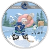 2018 $10 Learning to Play: Vancouver Canucks - Pure Silver Coin