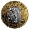 2017 $50 DC Comics Originals: All Star Comics - Pure Silver Coin