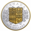 2017 $250 A Tribute to the First Canadian Gold Coin - Pure Silver Coin