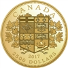 2017 $2500 A Tribute to the First Canadian Gold Coin - Pure Gold Coin