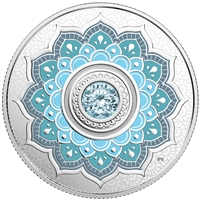 2018 $5Birthdaystones : March - Pure Silver Coin