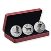 2018 3 - Coin Set Royal Canadian Mint Coin Lore: The Coins That Never Were - Pure Silver Coin Set
