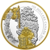 2018 $100 Keepers of Parliament: The Lion - Pure Silver Coin