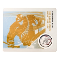 2009 25c Vancouver 2010 Ice Sledge Hockey - Olympic Sports Card