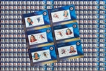 Wholesale Lot - Canada Post Stamp Hockey Cards NHL All-Star Legends First Issue x100
