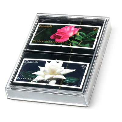 Canadian Flowers - Set of Two Decks of Playing Cards