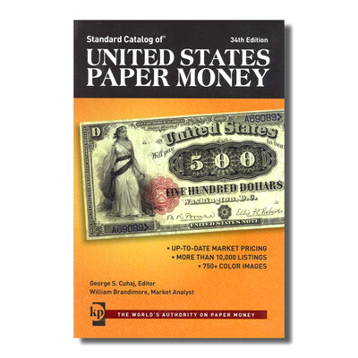 United States Paper Money, 34th Ed