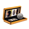 2014 $5 Bison - 1 oz. Pure Silver Coin and Stamp Set