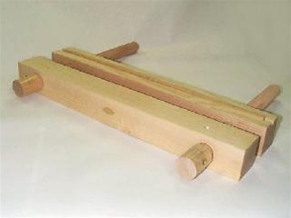 Finishing Press Wooden book press with boards Laying Press