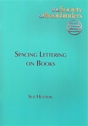 Spacing and Lettering on Books