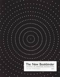 The New Bookbinder - Volume 37 - 2017