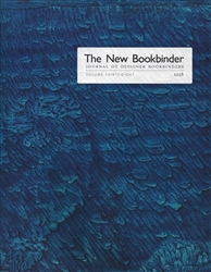 The New Bookbinder - Volume 38 - 2018