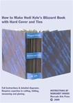 How to Make Hedi Kyle's Blizzard Book with Hard Cover and Ties