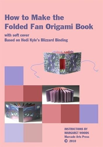 How To Make A Book Cover With Paper : How to make the folded fan origami book with soft cover