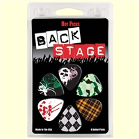 Hot Picks Backstage Guitar Picks