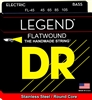Hi-Beam Legend Flatwound Stainless Steel Bass Strings 45-105 Medium