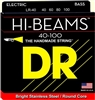 Hi-Beam Stainless Steel Bass Strings 40-100 Light 4-String