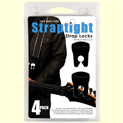 Straptight 4 Pack Strap Locks (Multi-Colors)