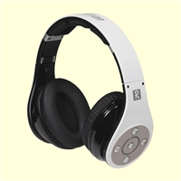 Bluedio R+ Bluetooth Headphones with aptX and Micro SD Media Player White