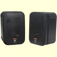 "JBL Control 1 Pro 5-1/4"" 2-Way Shielded Speaker Pair Black"