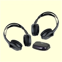 Boss Audio 2 Sets Of Wireless Headphones With IR Transmitter