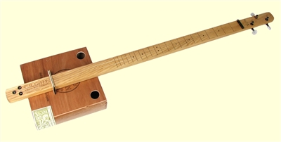 Cigar Box Guitar Kit Pure & Simple 3-String Slide (Unfretted)