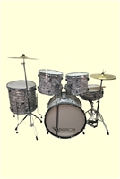 Glen Burton 522, 5 Piece Drum Kit - Multi Colors