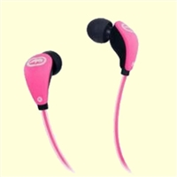 Ecko Glow Earbuds Pink