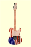 Huntington RWB Solid Body T-Style Electric Guitar