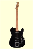 Glen Burton X Series Black Vintage MT202 Electric Guitar