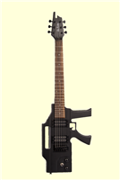 Glen Burton AK47 Machine Gun Electric Guitar - Black
