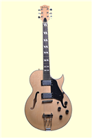 Glen Burton Maple Hollow Body Electric Guitar